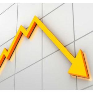 Startup investment decline