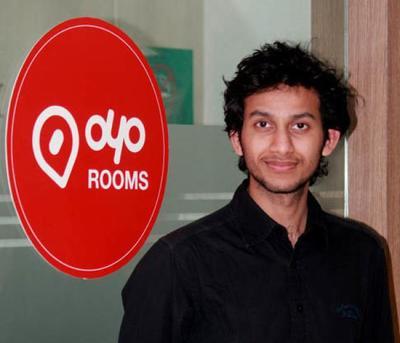 OYO Rooms Ritesh Agarwal