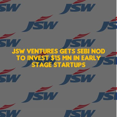 JSW Ventures gets SEBI nod