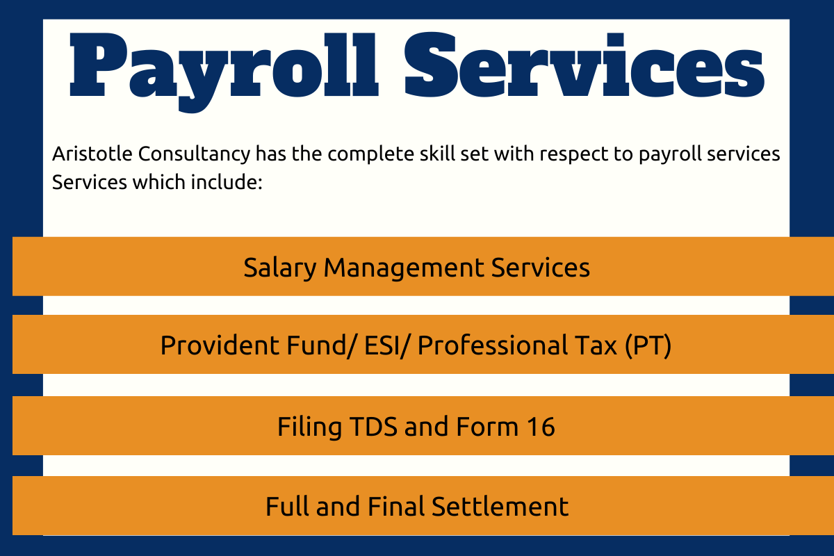 Payroll Management Outsourcing And Its Components in Thane, Maharashtra