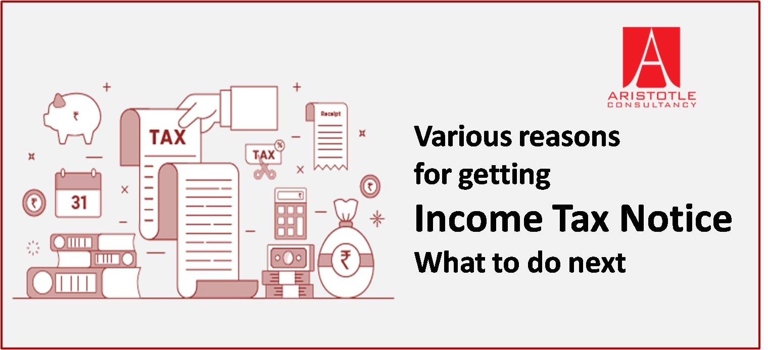 Income tax notice and What to do next